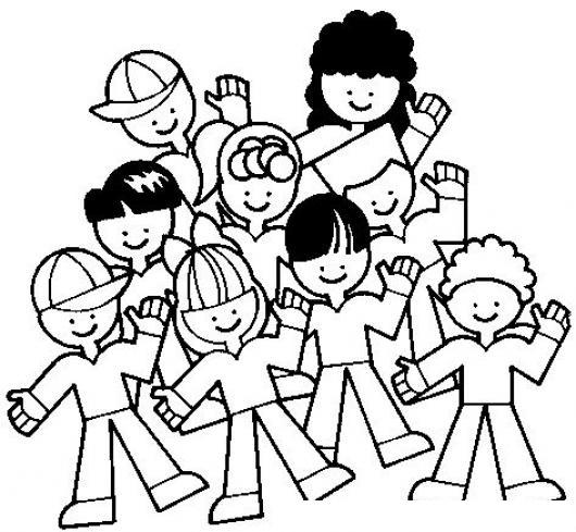 Colegio mixto para ninos jardin infantil dibujo de ninos - Ninos pintando con las manos ...