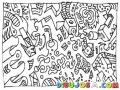 Dibujo Abstracto Para Pintar Y Colorear Dibujo Artistico Sin Forma