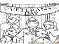 Veterans Day Dibujo De Veteransday Para Pintar Y Colorear El Dia De Los Veteranos De Guerra Del Los Estados Unidos De Norte America
