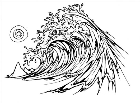Como Dibujar Olas De Mar  Bioinformatics RD