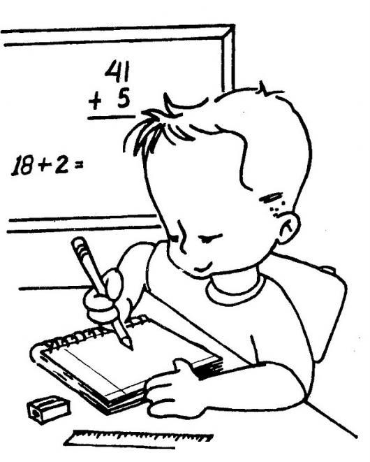 Dibujos para colorear portada de matematica - Imagui