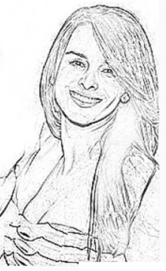 Yvette Prieto Pareja De Michael Jordan En Dibujo Para Pintar Y ...