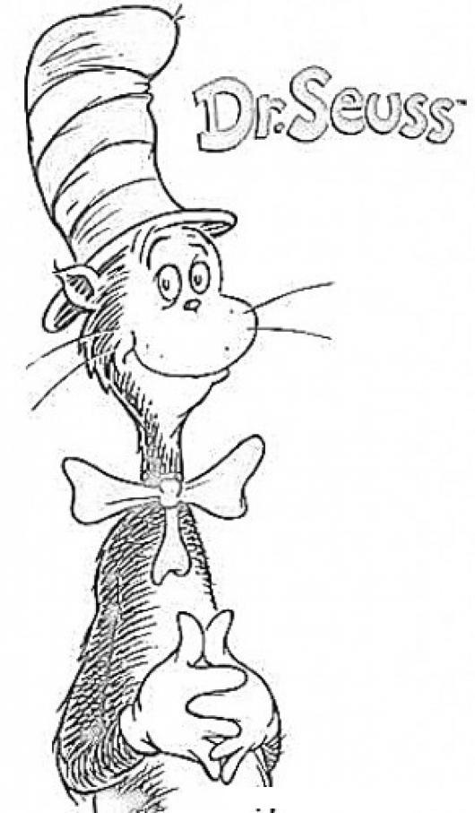 Único Doctor Seuss Para Colorear Embellecimiento - Dibujos Para ...