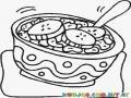 Colorear cereal de desayuno