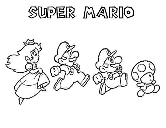 Mario Bros Personajes Para Dibujar