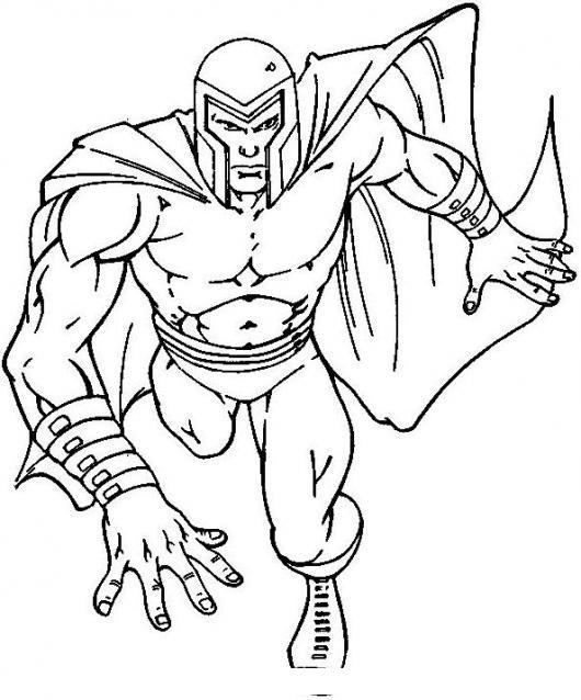 Dibujo De Magnus De Los X Men Para Pintar Y Colorear