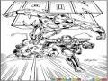 Dibujo De Ironman Volando Para Pintar Y Colorear A Iron Man