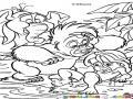 Dibujo De Tarzan Cuando Era Nino Para Pintar Y Colorear