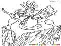 Dibujo De Tarzan Y Su Novia Para Pintar Y Colorear