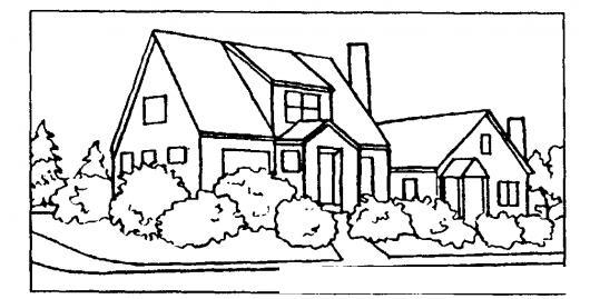 Casa de esquina para pintar y colorear colorear dibujos - Para pintar casas ...
