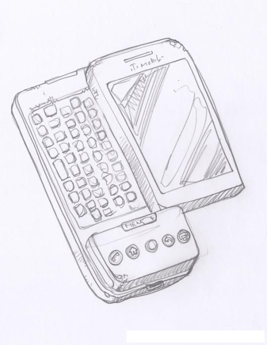 Dibujo De Telefono Htc Pro Para Pintar Y Colorear Celular Con