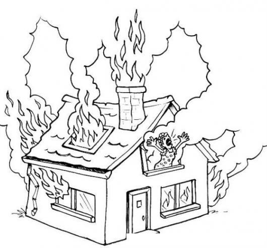 Imagenes de incendio para dibujar imagui - Fotos de casas para dibujar ...