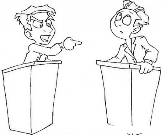 coloring pages of debates - photo#21