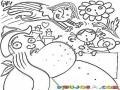 Dibujo De Hombre Con Paperas Para Pintar Y Colorear Mandibulon