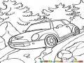 Mini Cooper 4x4 Dibujo De Minicooper Todo Terreno Bajando En Un Camino De Tierra Para Pintar Y Colorear Minicuper