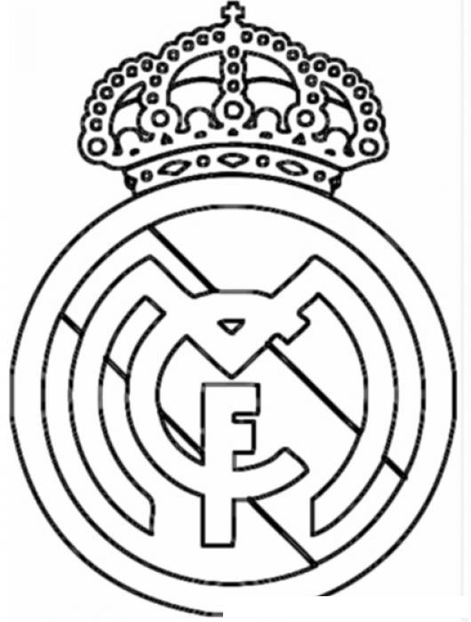 El Escudo Del Real Madrid Para Pintar Imagui