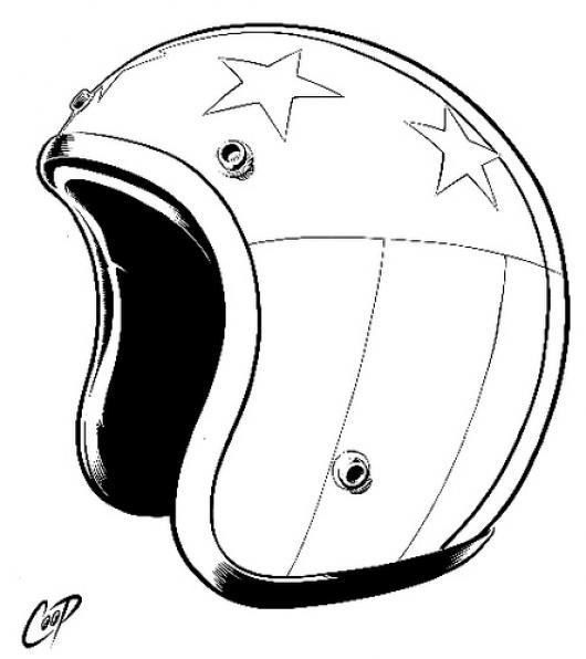 Casco De Moto Para Pintar Y Colorear | COLOREAR DIBUJOS VARIOS