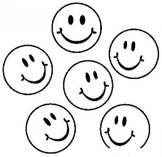 Caritasfelices Dibujo De 5 Caritas Felices Para Pintar Y Colorear