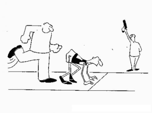 Una patada en el culo siempre es un paso adelante -