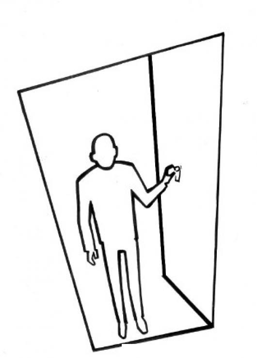 puerta para colorear the image kid has it