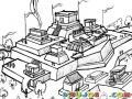 Ruinas Mayas Dibujo De Ciudad Maya Para Pintar Y Colorear Ciudad Azteca