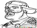 Braylon Edwards Face coloring page