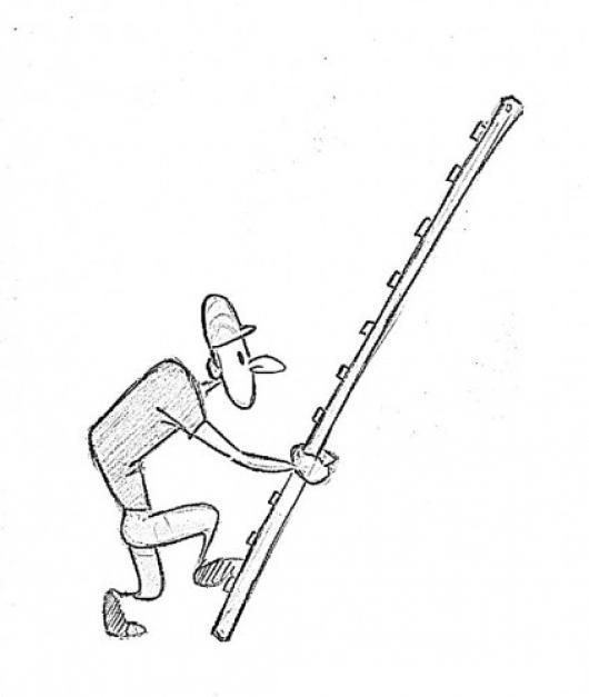 30 ideas dibujo de hombre subiendo escaleras on ceperxmas - Escaleras para pintar ...
