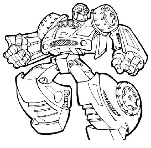 Dibujo De Robot Transformer Para Pintar Y Colorear Colorear