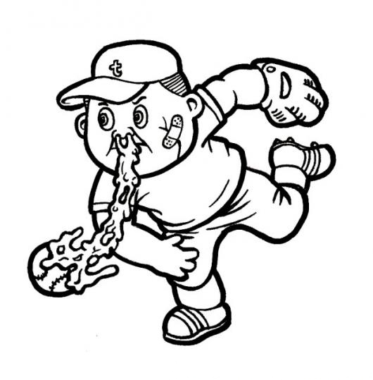 garbage pail kids coloring pages - photo#22