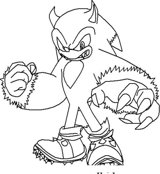 Sonic Con Anabolicos Para Pintar Y Colorear  COLOREAR DIBUJOS