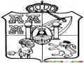 Escudo Del Estado De Tabasco Mexico Para Colorear