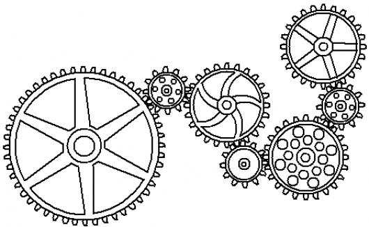 Gear Wheels also 1165 also Black Ink Nice Ste unk Tribal Tattoo Of Oc together with Ste unk Gear Collection 324056843 in addition . on 3d gears clip art