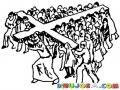 Cristianos Solidarios Con Jesus Para Pintar Y Colorear