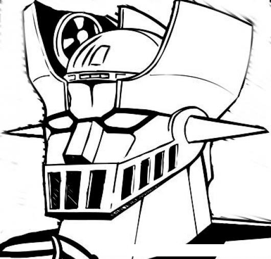 mazinger z coloring pages - photo#29