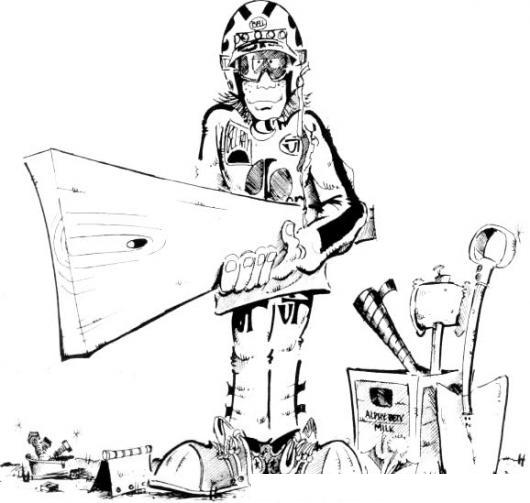 Militar Carpintero Dibujo De Soldado Con Tabla De Madera Y ...