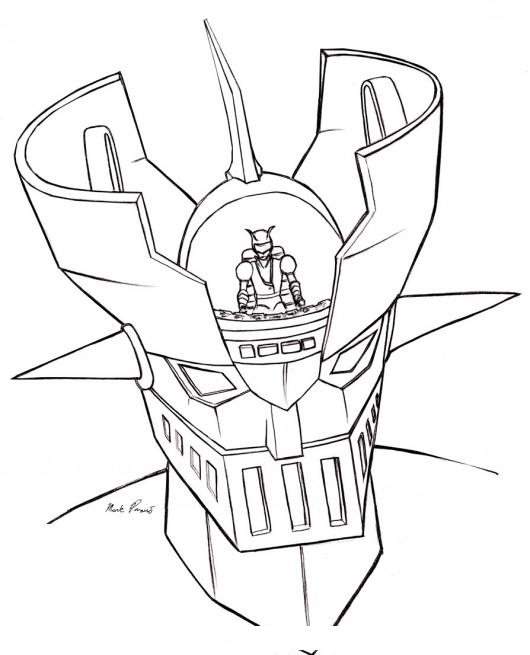 mazinger z coloring pages - photo#17