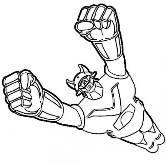 mazinger z coloring pages - photo#26