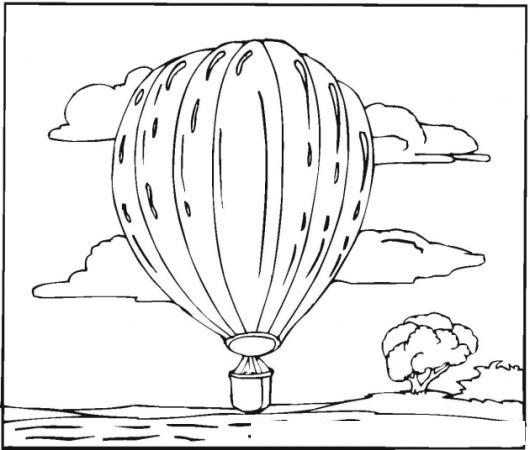 Colorear Un Globo Flotando Sobre Un Lago Colorear Dibujos De Cholo