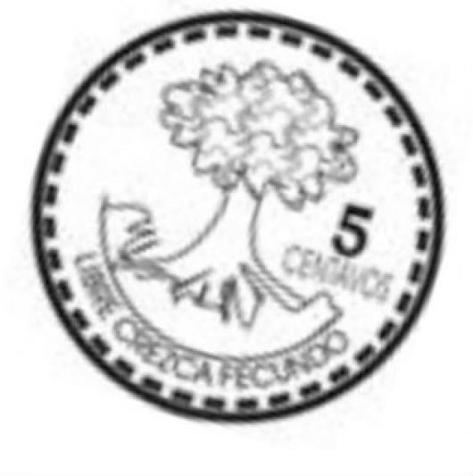 5 Centavos De Guatemala Moneda De Cinco Centavos De Guatemala Para ...