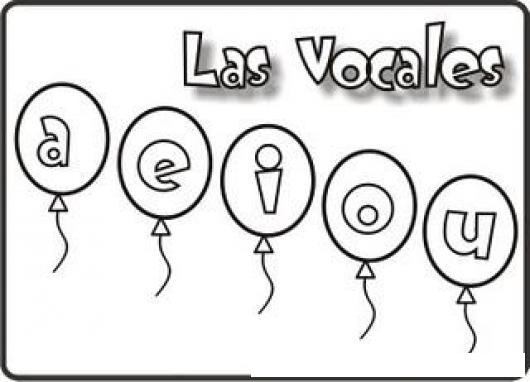 Pintar Las Vocales Colorear Dibujos De Cholo Dibujo De Las