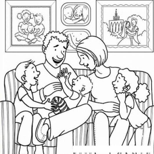 Top 10 Punto Medio Noticias Dibujos De Familia Feliz Para Colorear
