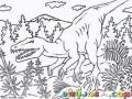 Colorear Tiranosauro Rex