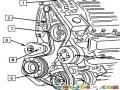 Dibujo De Fajas De Motor Para Pintar Y Colorear Motor De Carro