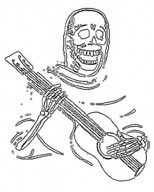 la santa muerte coloring pages - photo #27