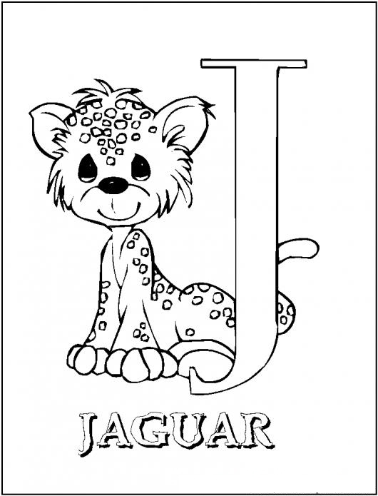 j is for coloring pages - photo #50