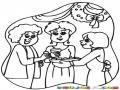 Dibujo De Un Convivio De Mujeres En Navidad Para Pintar Y Colorear Convivio Femenino
