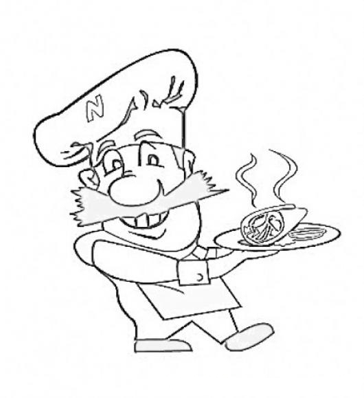 dancing taco coloring pages - photo#12