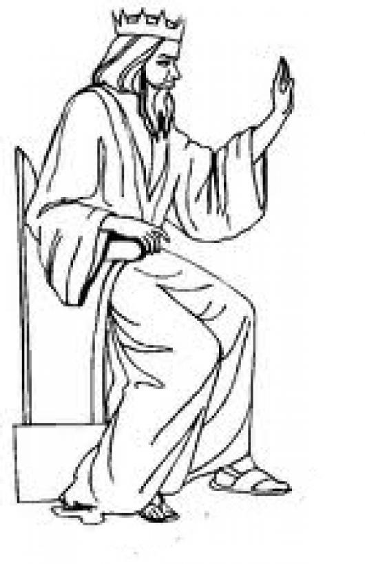 Reydereyes Y Senordesenores Dibujo Del Rey JESUS Sentado En Su Trono ...