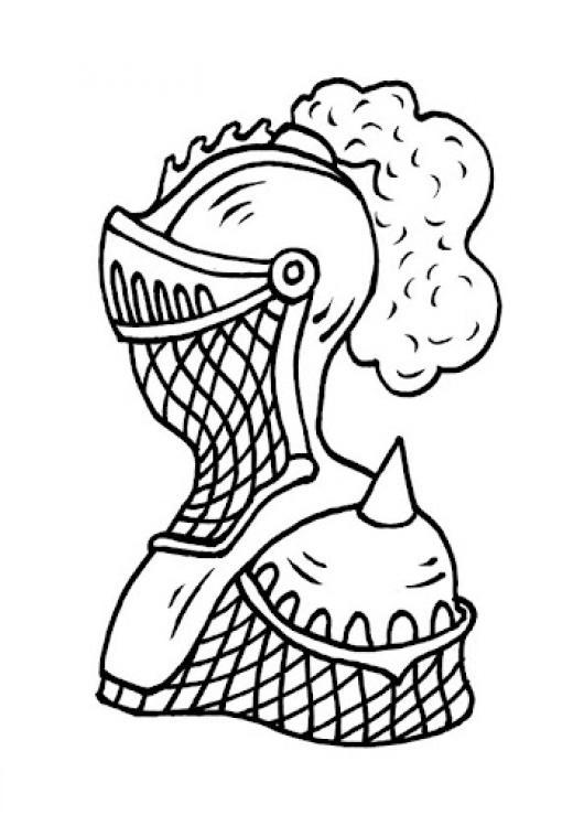 Traje De Caballero Medieval Para Pintar Y Colorear | COLOREAR ...