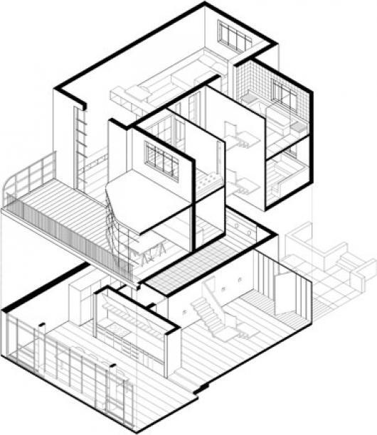 Dibujos para colorear 3d dibujos para pintar for Imagenes de planos de casas